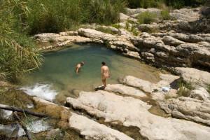 Sitios para bañarse en Murcia