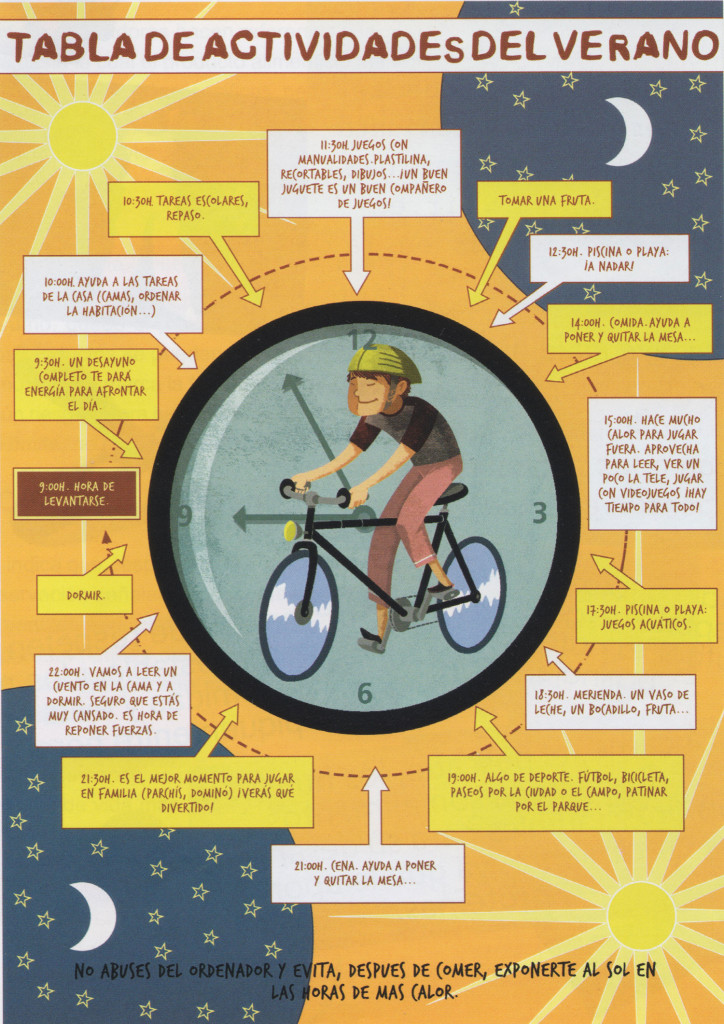 Hábitos saludables para niños en verano