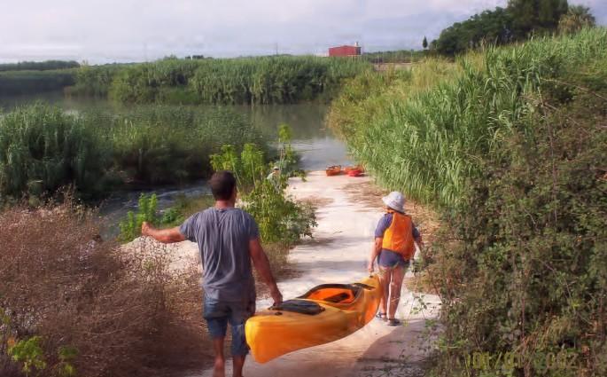 Bajar el Júcar en kayak