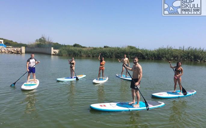 Practicar paddle surf en la Comunidad Valenciana