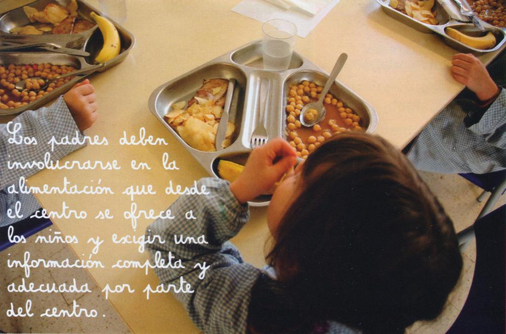 Mensaje sobre la responsabilidad de los padres en la alimentación