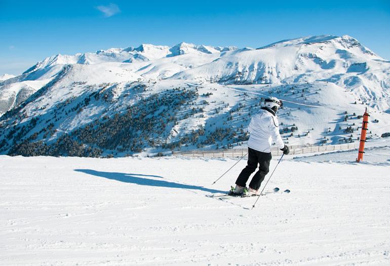 Destacada esquí