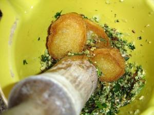 picar el pan y perejil