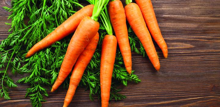 Zanahorias, beneficios al natural