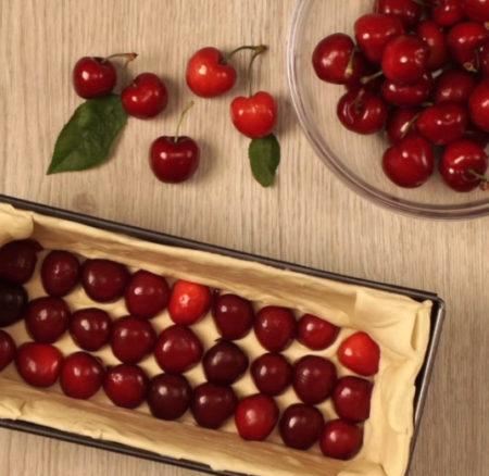 Receta | Hojaldre de cerezas